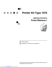 xerox 1075 manuals rh manualslib com Kindle Instruction Manual Orbit Timer Instruction Manual