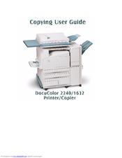 xerox docucolor 1632 manuals rh manualslib com Xerox DocuColor 2240 Xerox DocuColor 7000