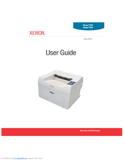Xerox PHASER 3125 User Manual