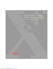 Xerox Phaser, DocuPrint Product Reference Manual