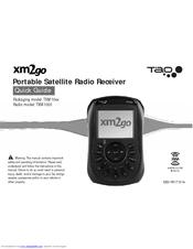 xm satellite radio xm2go myfi portable satellite radio manuals rh manualslib com Delphi MyFi XM2GO Delphi XM Radio Accessories