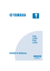 Yamaha F200 Owner's Manual