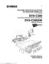 Yamaha CINEMASTATION DVX-C300SW Owner's Manual