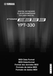 yamaha psr e333 ypt 330 user manual pdf download rh manualslib com yamaha psr e333 notice yamaha psr e333 specs