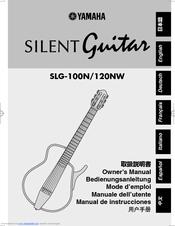 Yamaha silent guitar slg 100n manuals for Yamaha silent guitar slg130nw