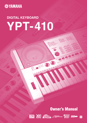 Yamaha YPT-410 Owner's Manual