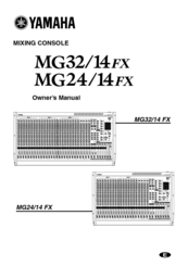 Yamaha mg24 32fx_pcb4(c) manual by download mauritron # for sale.