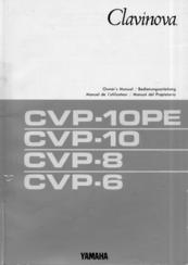 yamaha clavinova cvp 10 owner s manual pdf download rh manualslib com yamaha clavinova user guide yamaha clavinova cvp-35 owners manual