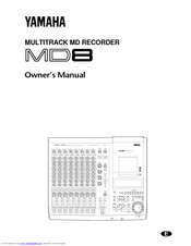 Yamaha MD8 Owner's Manual