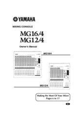 yamaha mg16 4 manuals rh manualslib com Yamaha MG166CX Compressor mesa de som yamaha mg166cx manual portugues