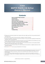 yamaha motif rack xs editor manuals. Black Bedroom Furniture Sets. Home Design Ideas