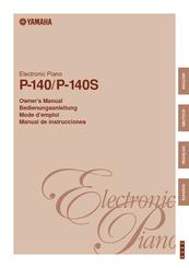 yamaha p 140 manual