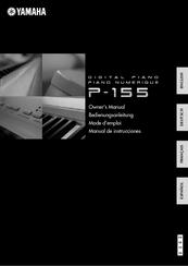 yamaha p 155 owner s manual pdf download rh manualslib com yamaha p 155 manuale italiano yamaha p 155 user manual pdf