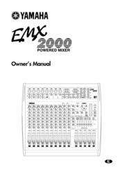 yamaha emx 2000 manuals rh manualslib com Yamaha Power Amp M Yamaha EMX66M