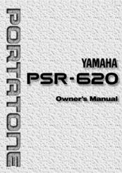 yamaha portatone psr 620 owner s manual pdf download rh manualslib com Yamaha PSR 530 Power Supply Yamaha PSR 530 Review