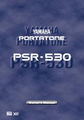 yamaha portatone psr 530 owner s manual pdf download rh manualslib com Yamaha PSR 410 Keyboard Yamaha PSR 530 Review