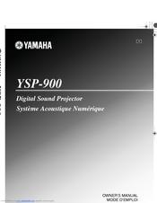 yamaha digital sound projector ysp 900 manuals rh manualslib com yamaha digital sound projector ysp-900 manual yamaha digital sound projector ysp-900 manual