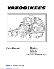 Yazookees Zhdd61270 Parts Manual Pdf Download