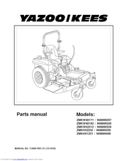 Yazookees Zmkw4817 Parts Manual Pdf Download