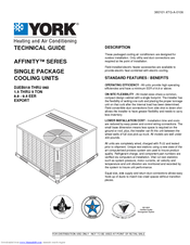york affinity series manuals rh manualslib com  Affinity Chillers NH