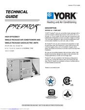 York Predator Dh 120 Manuals Manualslib