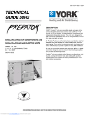 York DM120 User Manual