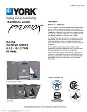 york predator xp090 manuals