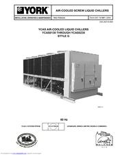 york ycas0130 installation operation maintenance manual pdf download rh manualslib com york ycaz chiller manual