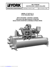 york yt manuals rh manualslib com McQuay Chiller Trane Centrifugal Chiller Diagram