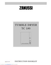 zanussi tc 180 manual pdf download rh manualslib com