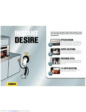 Zanussi Built-In Coffee Machine Brochure