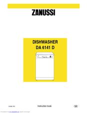 zanussi da 6141 d manuals rh manualslib com Kitchen Sink Dishwasher Combo Kitchen Sink Dishwasher Combo