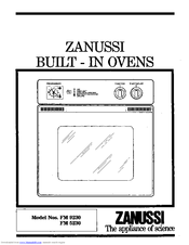 zanussi fm 9230 manuals rh manualslib com zanussi dishwasher zdt21006fa user manual zanussi integrated dishwasher user manual