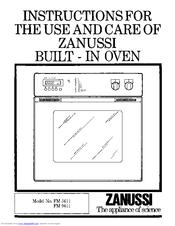 zanussi fm 9611 manuals rh manualslib com zanussi double oven instruction manual zanussi oven zob343x user manual