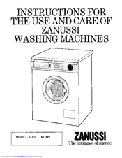 Zanussi FL812 Instructions For The Use And Care