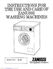 Zanussi washing machine youtube.