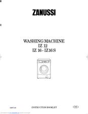 zanussi iz 12 instruction booklet pdf download rh manualslib com