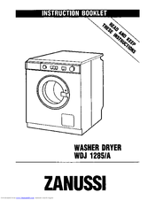 Zanussi WDJ 1285/A Instruction Booklet