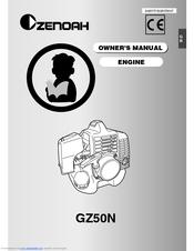 Zenoah GZ50N Manuals