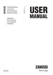 Zanussi ZOU362 User Manual