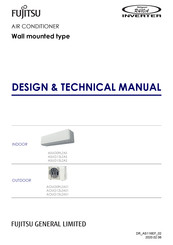 Fujitsu ASUG09LZAS Design & Technical Manual