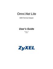 Zyxel Omni.Net ISDN Terminaladapter Standard TA RS 232