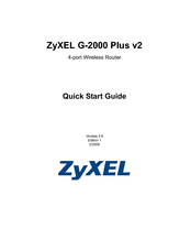 zyxel g 2000 plus: