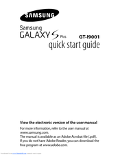 Samsung Galaxy S II GT-I9100 Quick Start Manual