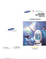 samsung sgh t100 owner s manual pdf download rh manualslib com Samsung SGH- D500 Samsung SGH- N500