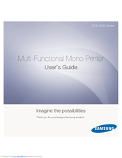samsung scx 3200 series manuals rh manualslib com Instruction Manual Book Manuals in PDF