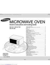 Ongebruikt SAMSUNG CE1071 OWNER'S INSTRUCTIONS AND COOKING MANUAL Pdf Download. SC-94