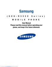 samsung sch r355c series manuals rh manualslib com Samsung SCH U380 Samsung SCH U430