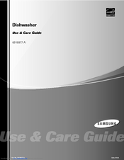 Samsung DB3710DB Use & Care Manual