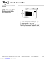 Whirlpool Gold Gt4175sps Manuals